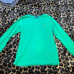 Youth Ralph Lauren polo long sleeve shirt